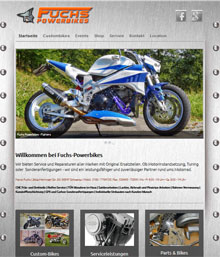 Fuchs Powerbikes - Harley Custom Bikes - Fighters
